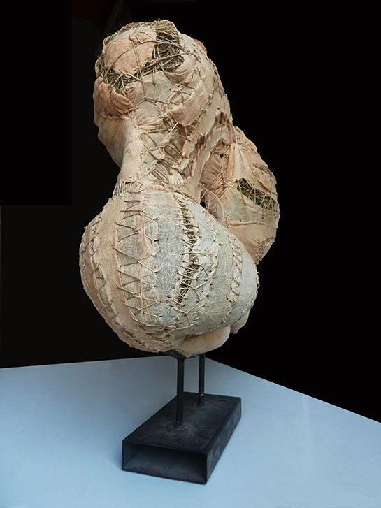 Patrizia Trevisi - Demetra II - Lato frontale