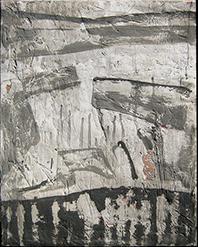 quadri fondo gesso graffito, quadri informali, tecnica mista