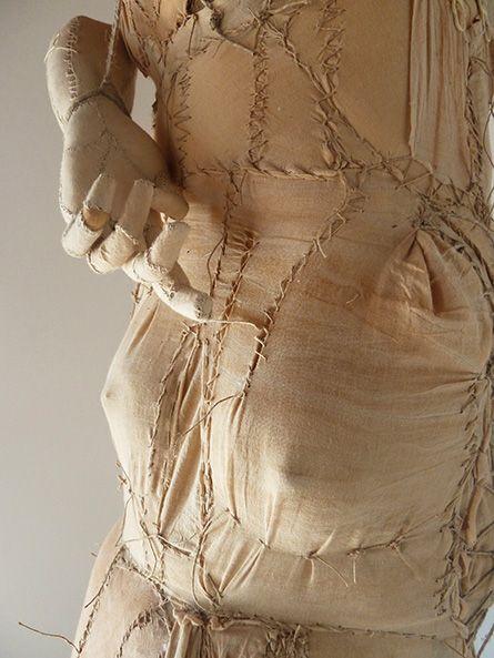 archetipo, arte tessile, astrazione organica, carne, culto della Madre Terra, fiber art, Grande Madre, mito, Mixed media, organica, ready made, scultura tessile, texture